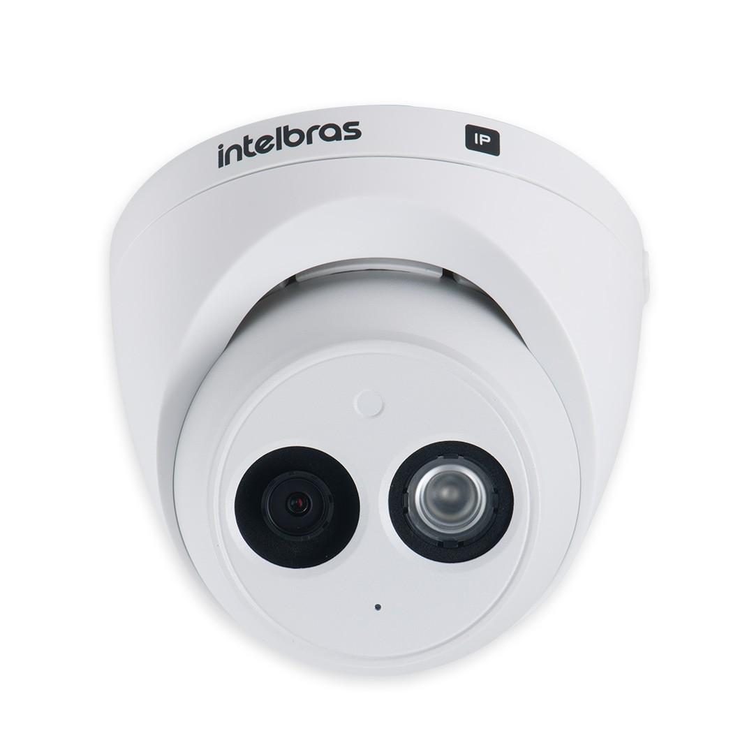 Câmera IP Dome Full HD Intelbras VIP 3250 MIC Microfone Embutido