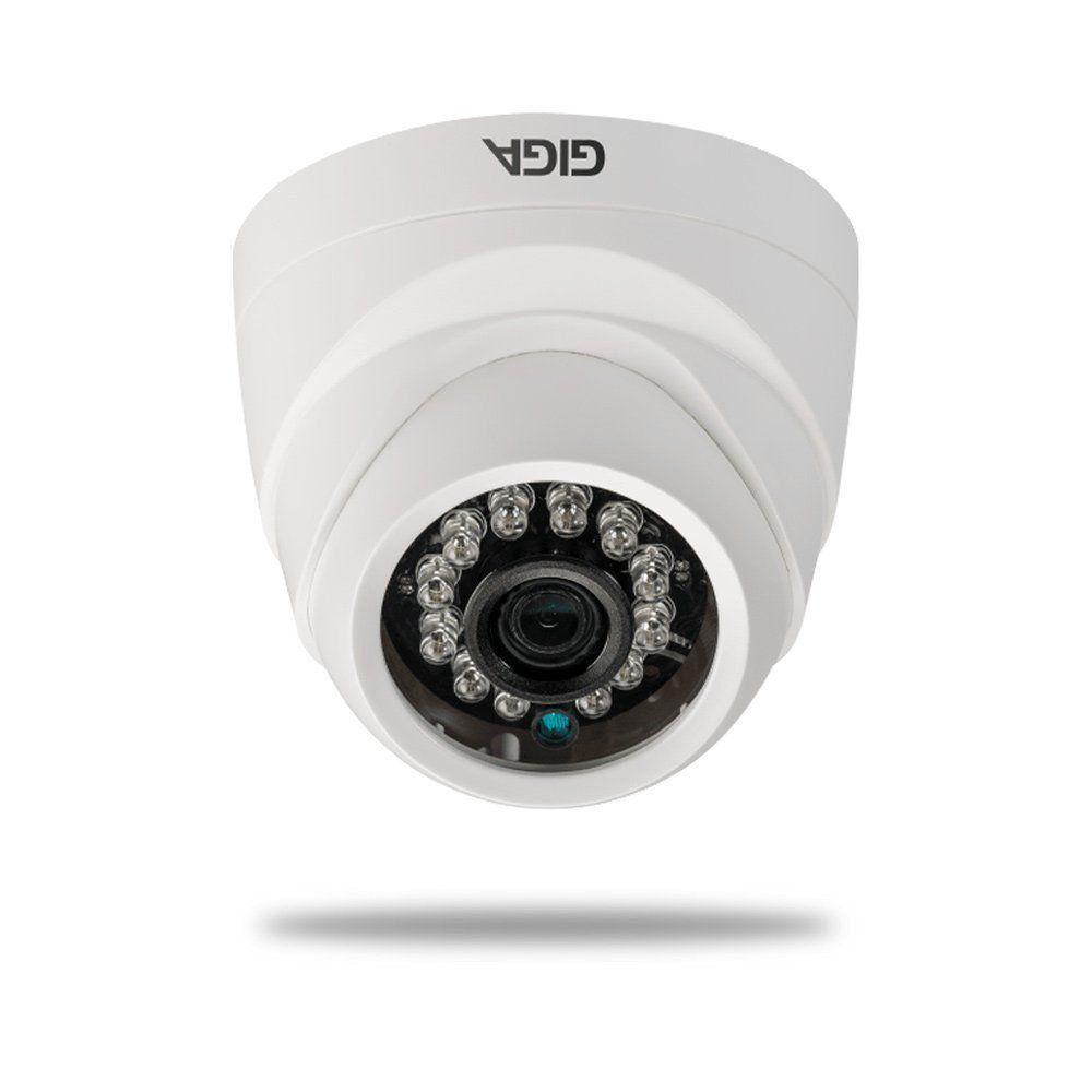 Câmera IP Giga GSIP1M20DB28 Dome 720p DWDR