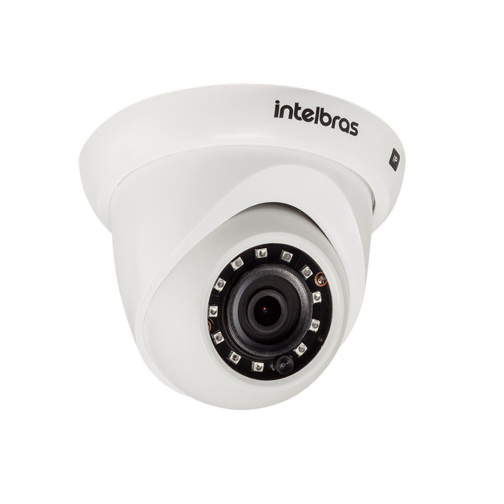 Câmera IP Intelbras VIP 3230 D Dome Full HD 2MP Poe 30 Mts