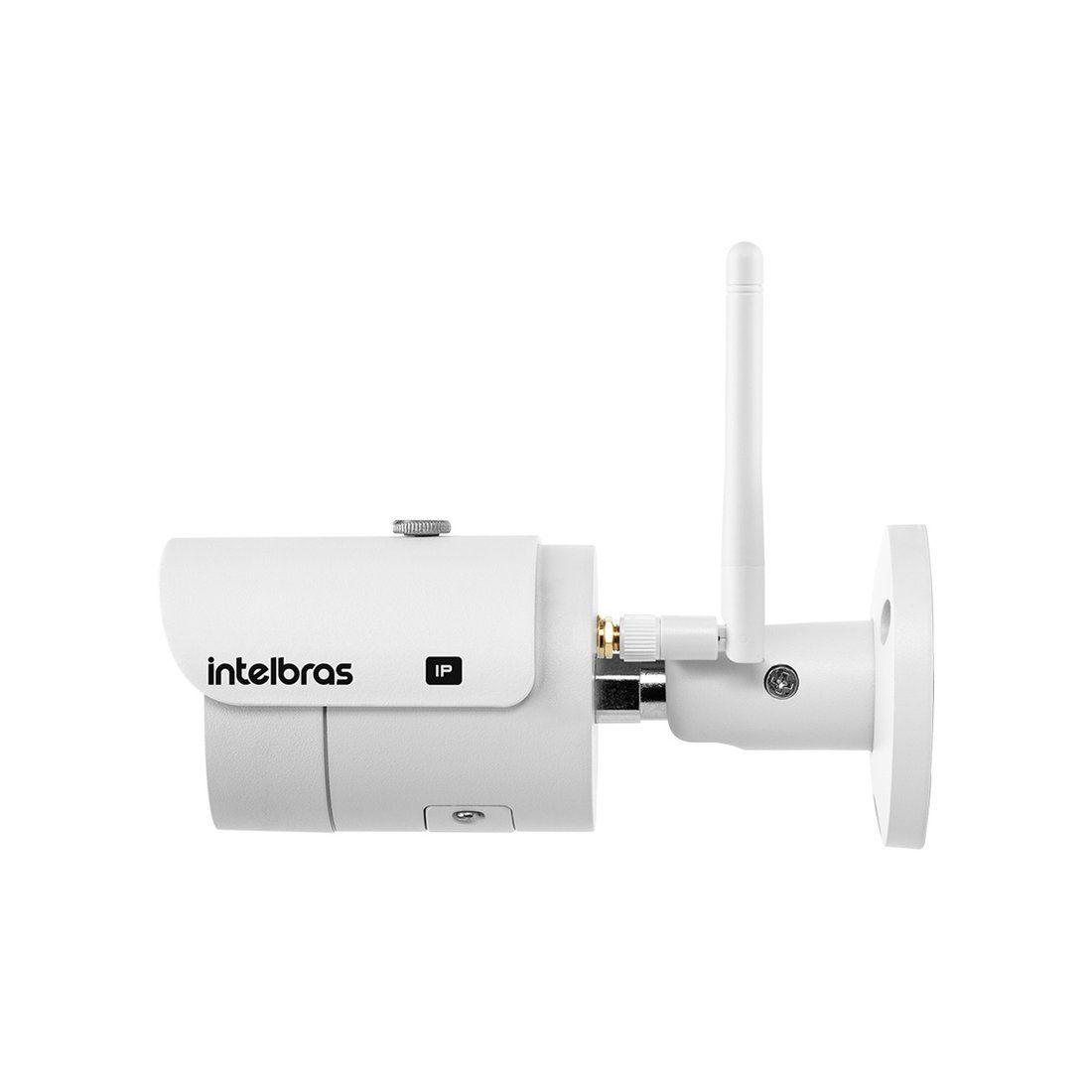 Câmera IP Wi-Fi Intelbras VIP 3430 W 4 Megapixel 30 Metros