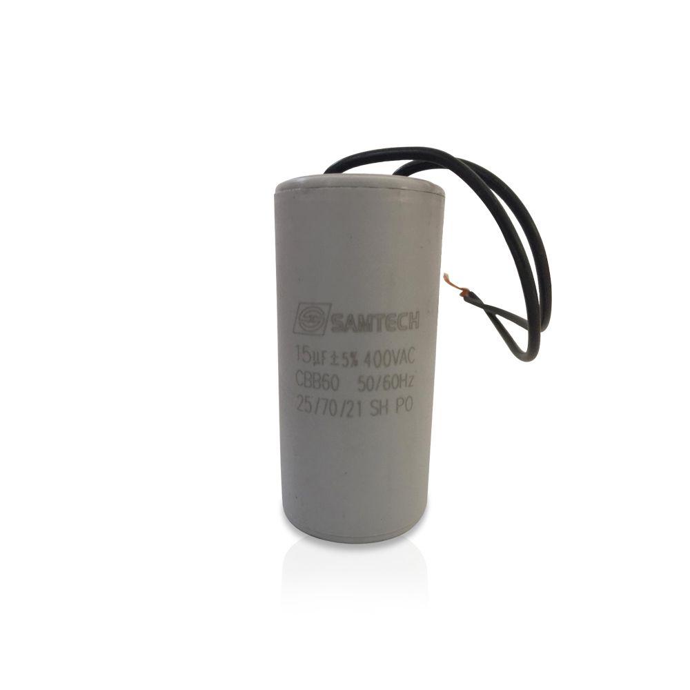Capacitor de Motor PPA 15UF X 400V +-10% 50/60HZ