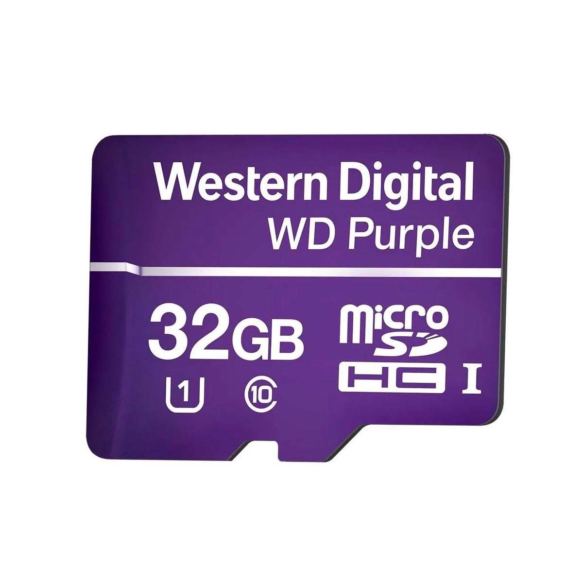 Cartão de Memória 32Gb SD WD Purple