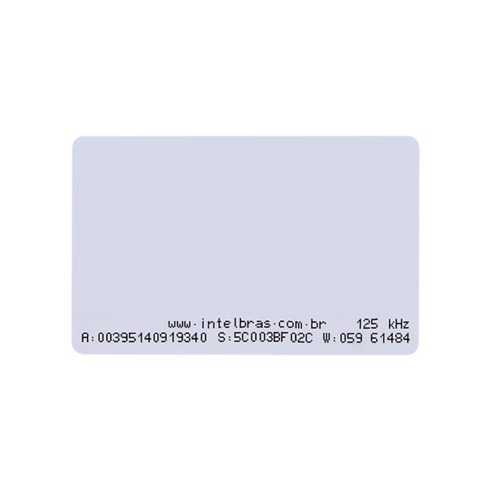 Cartão de Proximidade Intelbras TH 2000 RFID 125 kHz