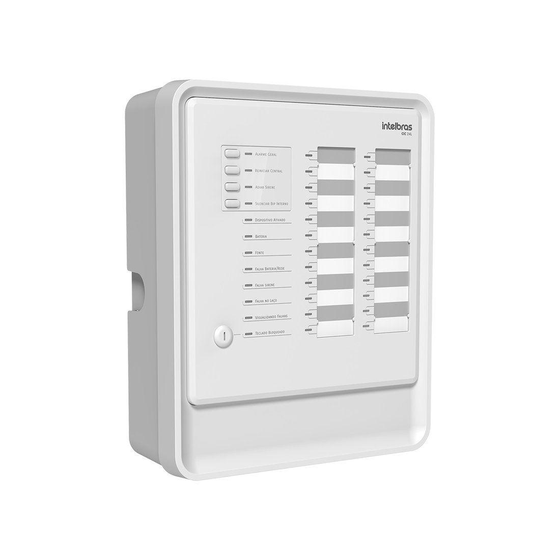 Central de Alarme de Incêndio Intelbras CIC 24L