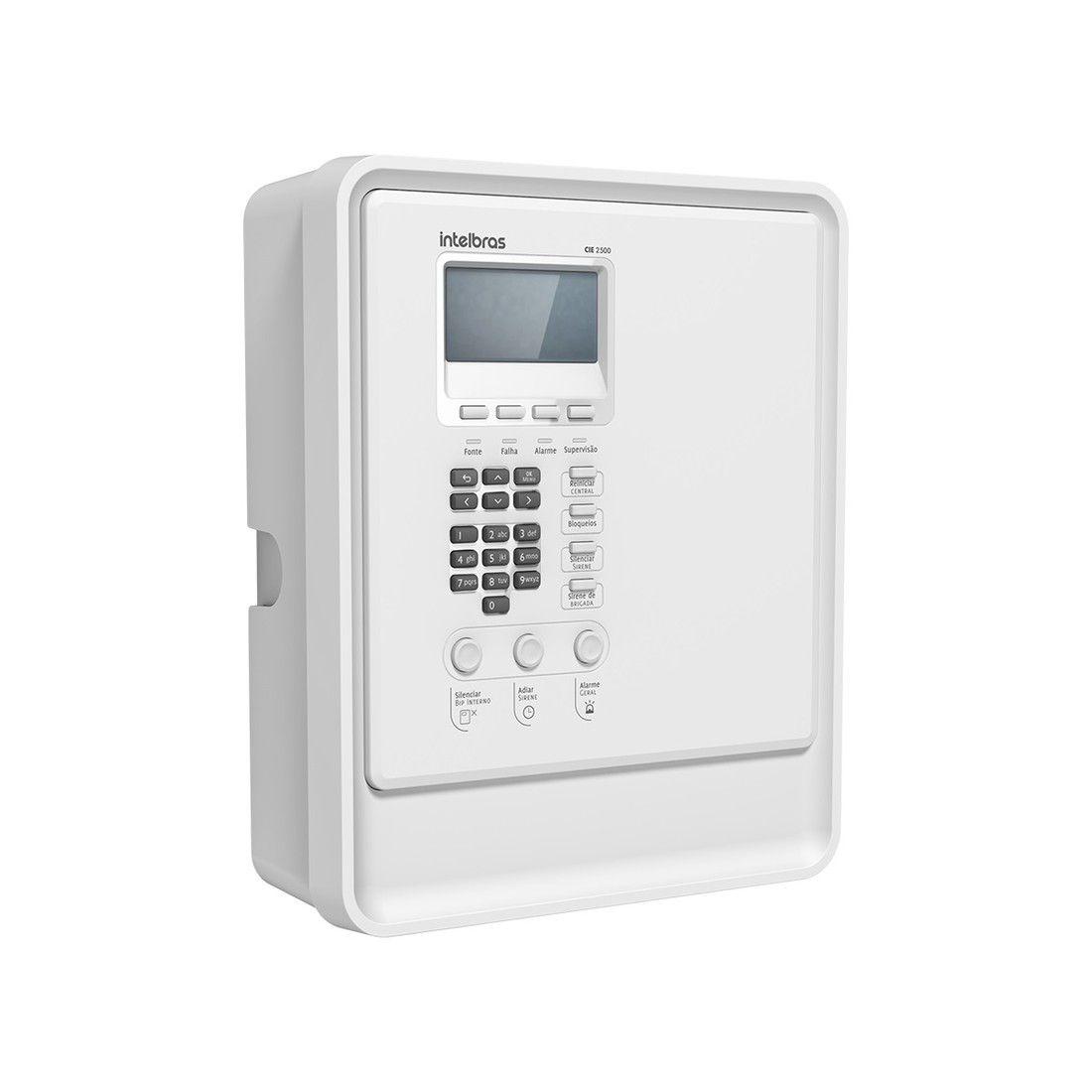Central de Alarme de Incêndio Intelbras CIE 2500 Endereçável