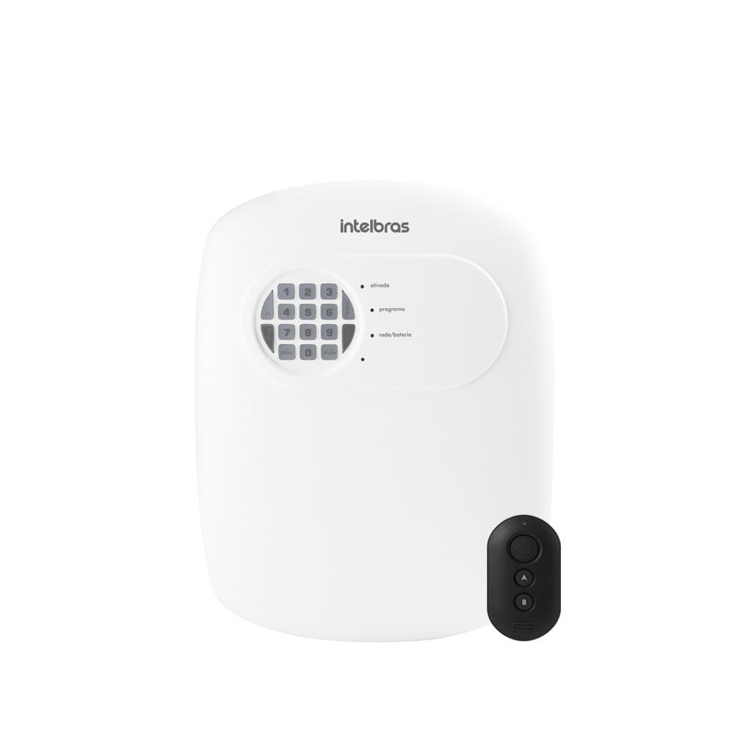 Central de Alarme Intelbras ANM 24 Net Conexão Via Smartphone