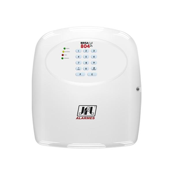 Central de Alarme Residencial JFL Brisa Cell 804 Discadora GSM Chip