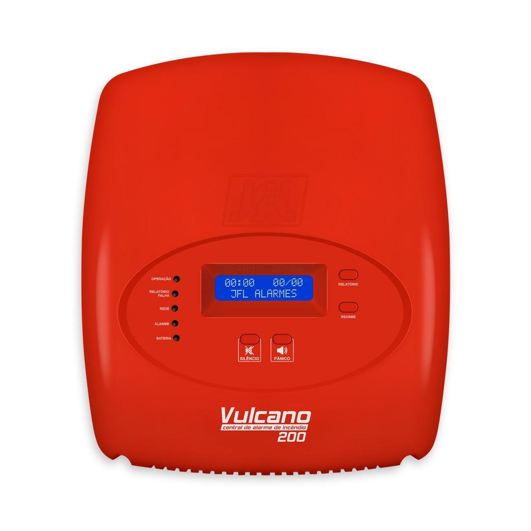 Central de Alarme para Incêndio Vulcano-200 JFL
