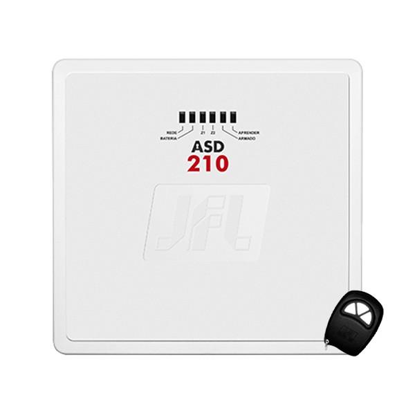 Central de Alarme Residencial JFL ASD 210 2 Zonas Mistas
