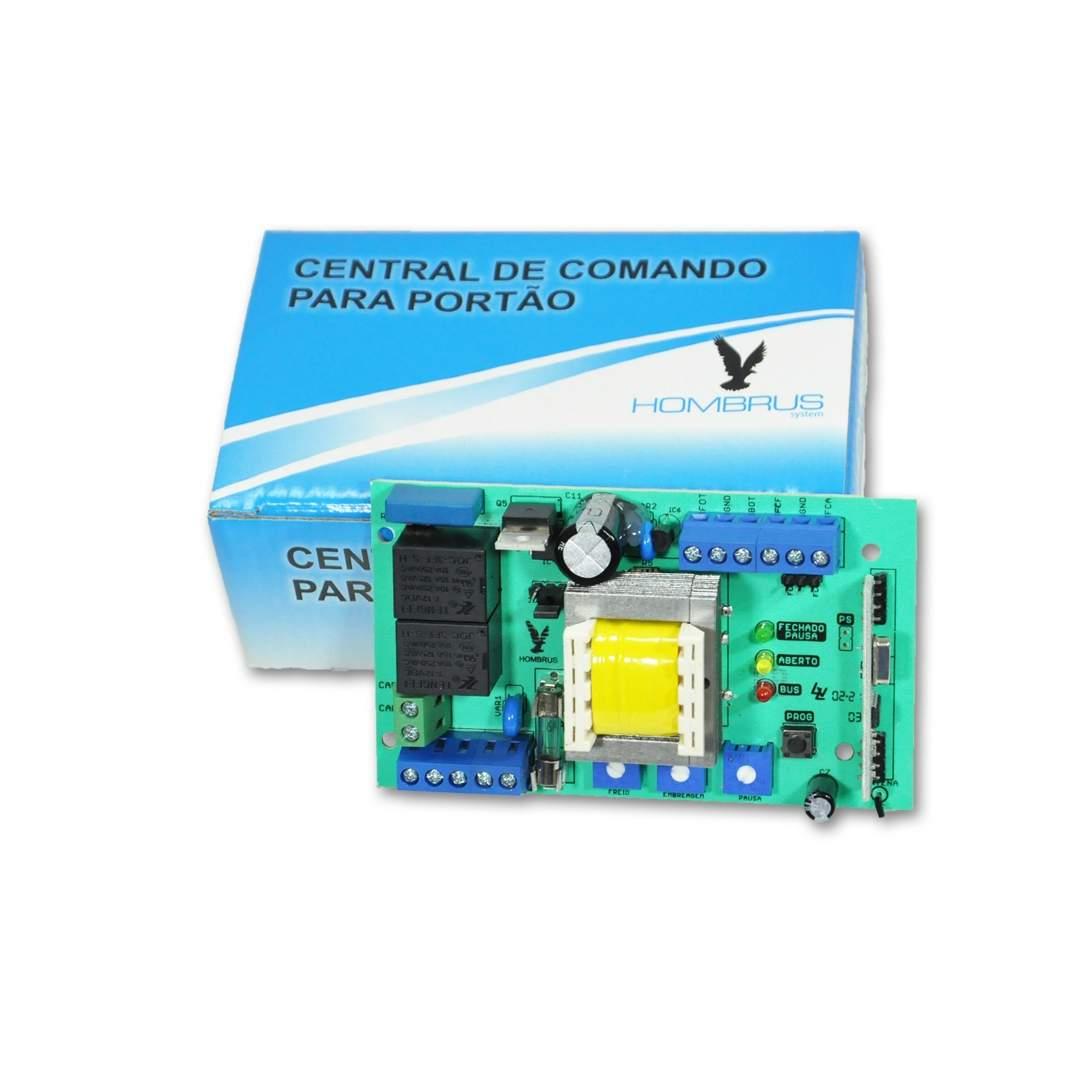 Central de Comando Hombrus PCR 40 para Motor de Portão