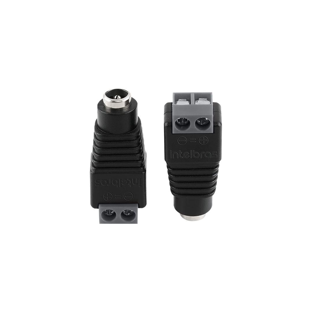 Conector P4 Fêmea para Câmera de Segurança Intelbras Conex 1000