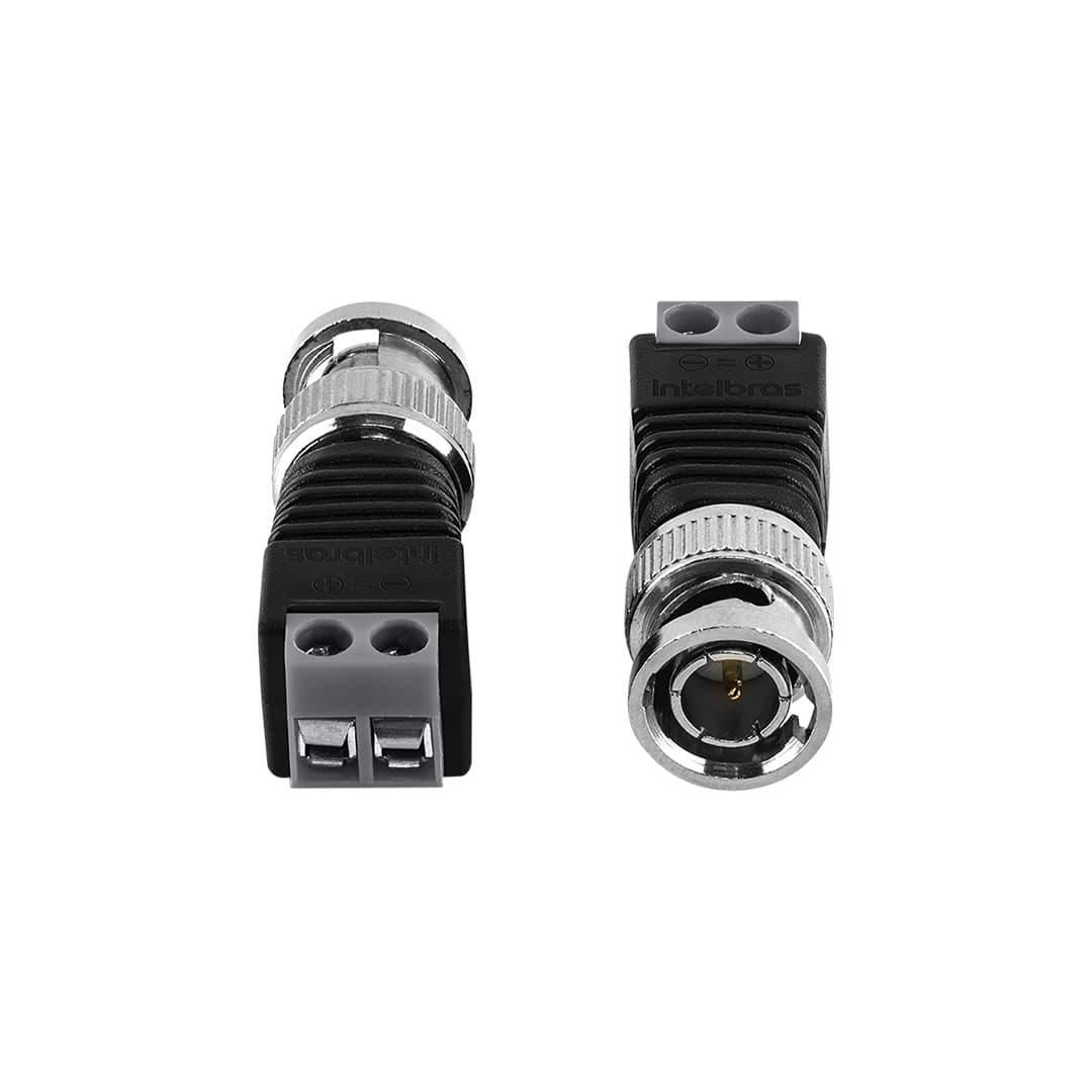 Conector BNC com Borner para Câmera de Segurança Intelbras Conex 1000
