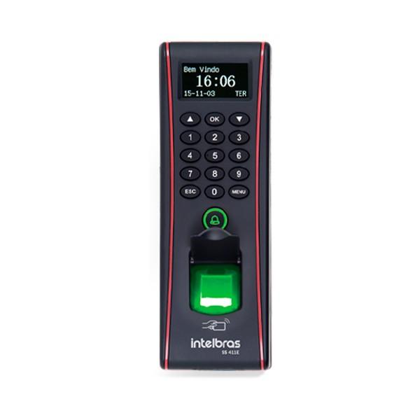 Controlador de Acesso Intelbras SS 411 E por Senha Biometria Cartão