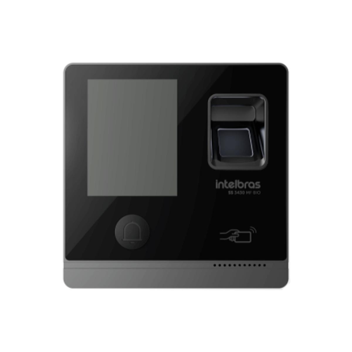 Controle de Acesso Intelbras RFID 13,56 MHz SS 3430 MF Bio