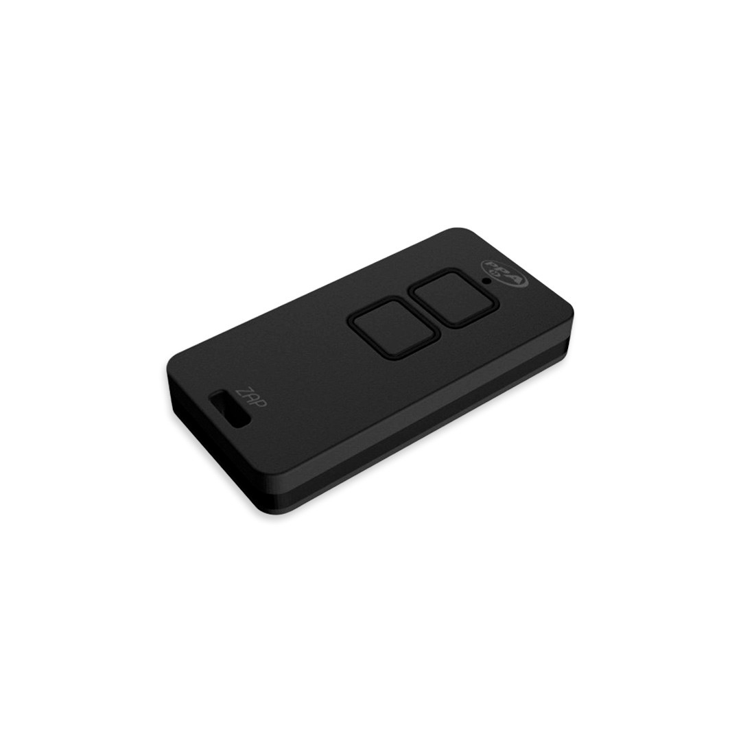 Controle Ppa Zap 2 Botões Transmissor 433,92 MHz