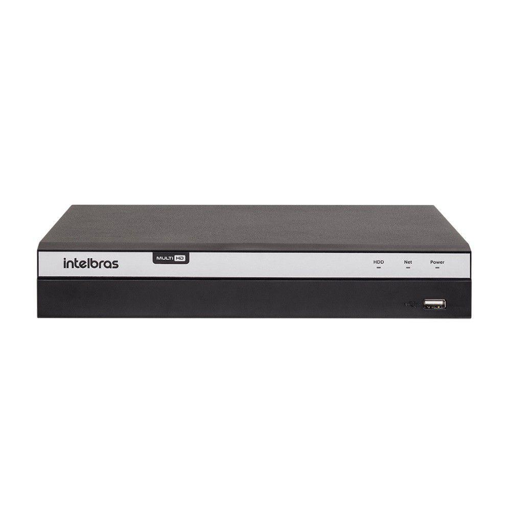 DVR Gravador de Vídeo Intelbras MHDX 3116 4MP Lite 16 Canais