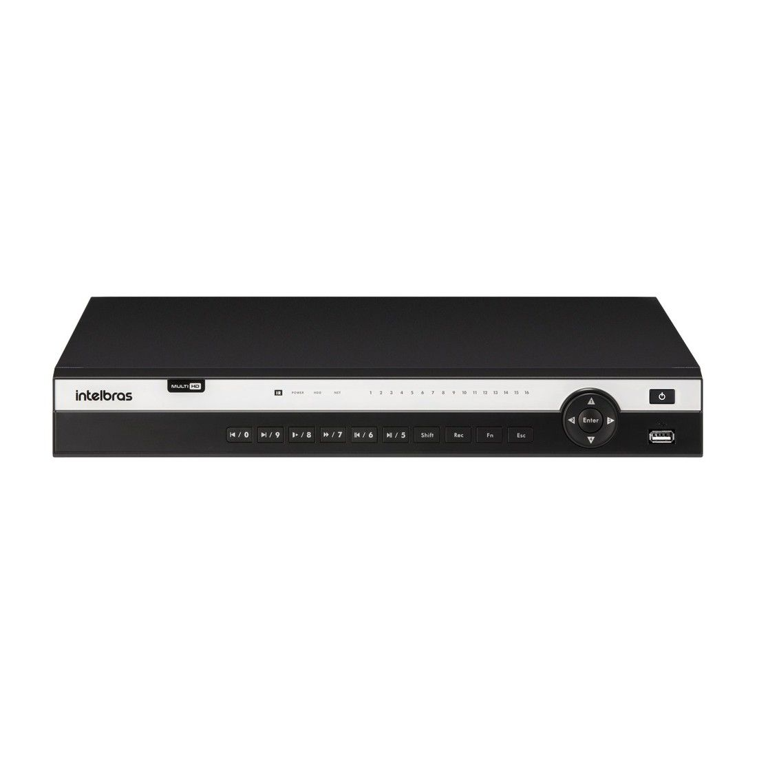 DVR Gravador de Vídeo Intelbras MHDX 3132 5MP Lite 32 Canais