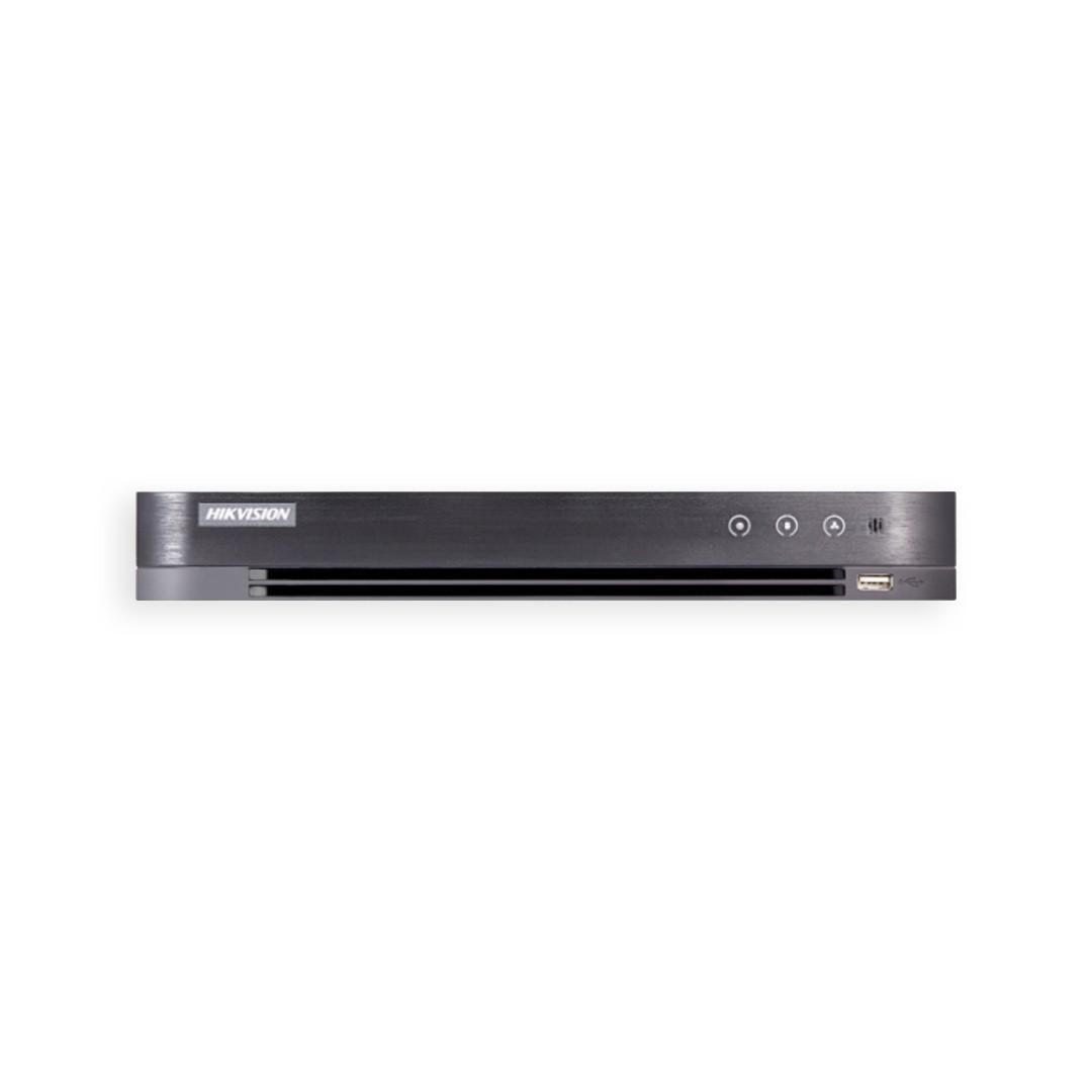 DVR Hikvision Gravador Digital de Vídeo 4 Canais Full HD 2MP Pentaflex