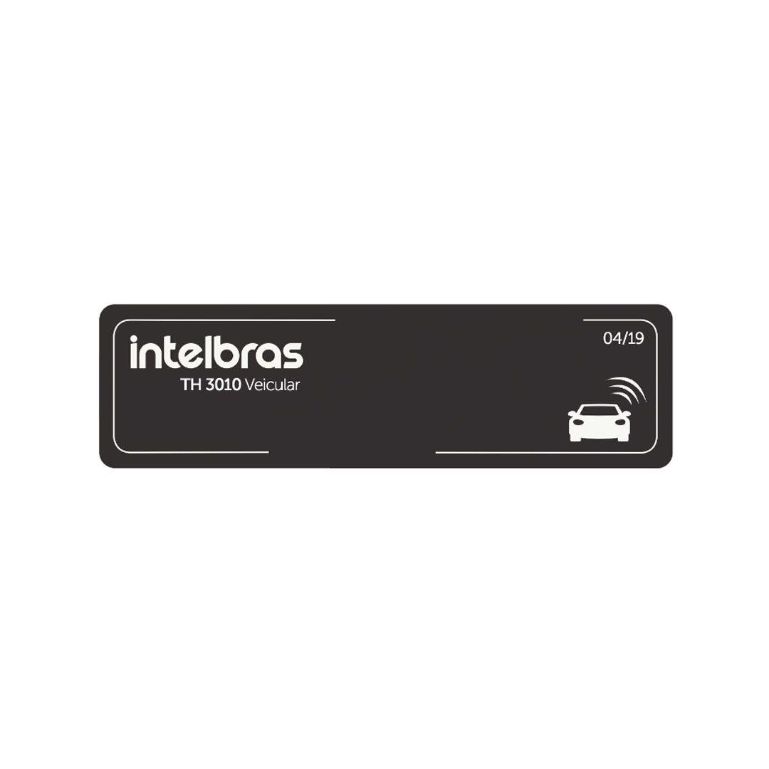 Etiqueta de Acionamento Veicular Intelbras RFID 900 MHz TH 3010