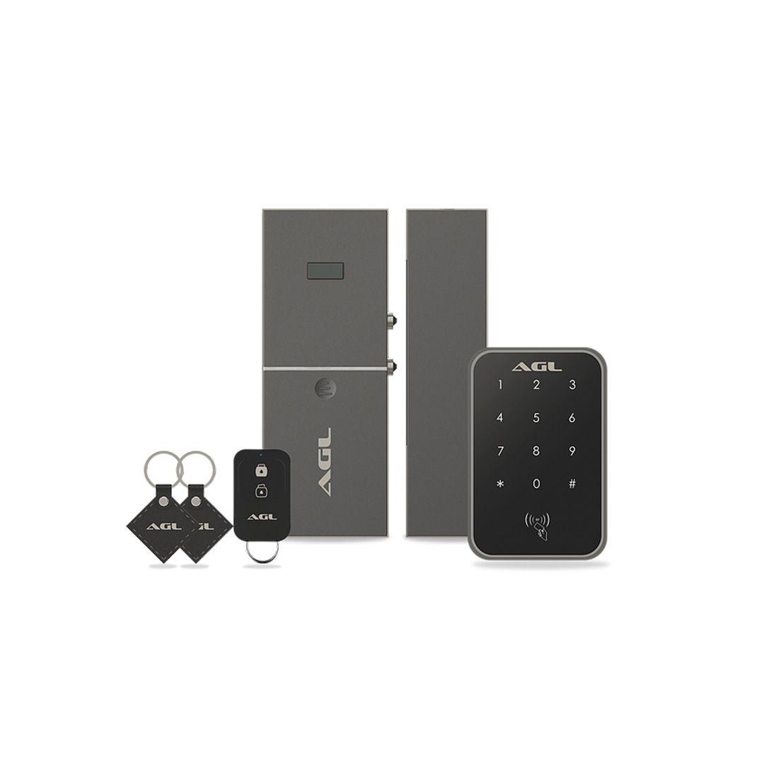 Fechadura Digital AGL Sem Fio Smart X Senha ou Cartão
