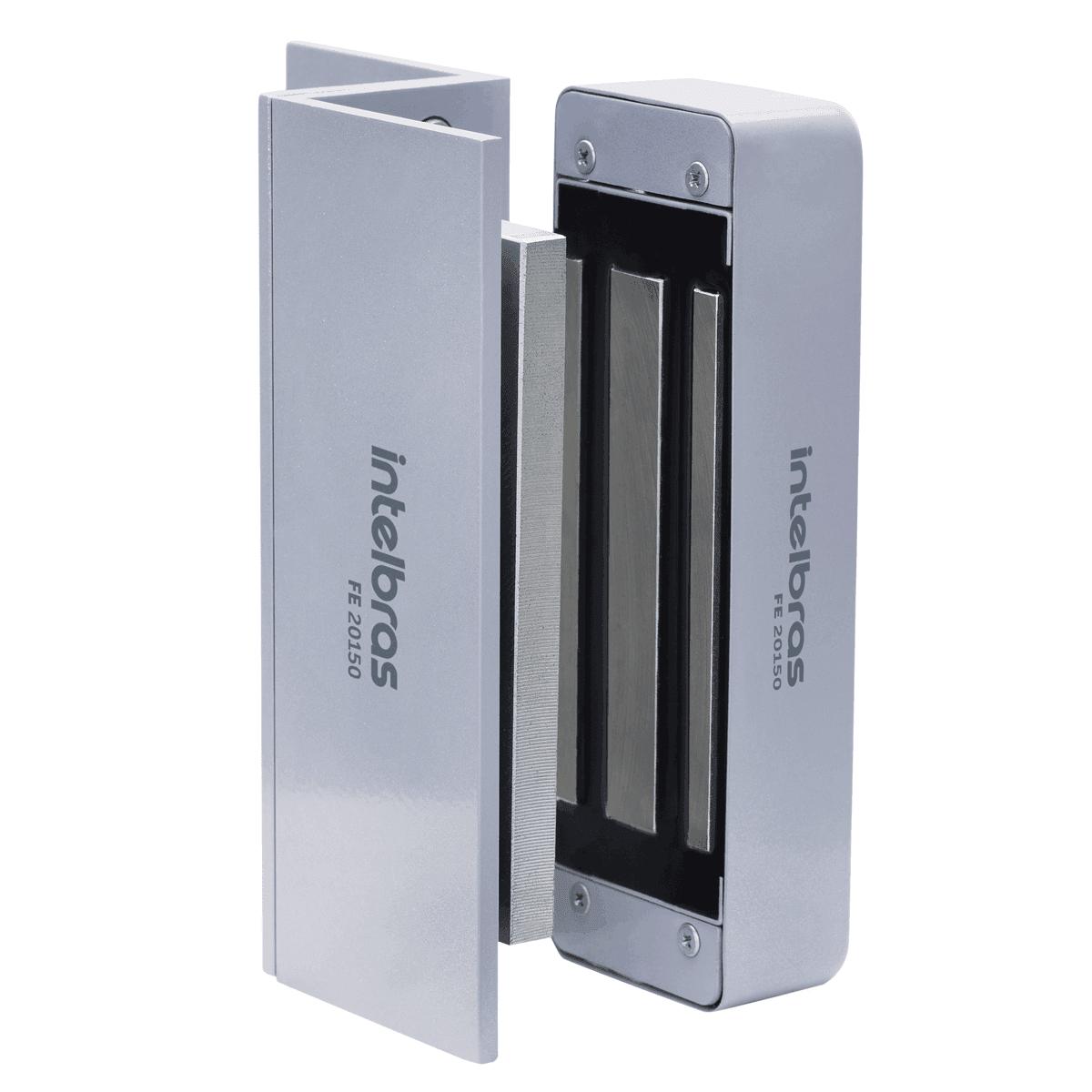 Fechadura Eletroímã Intelbras FE 20150 150 Kgf Sem Sensor