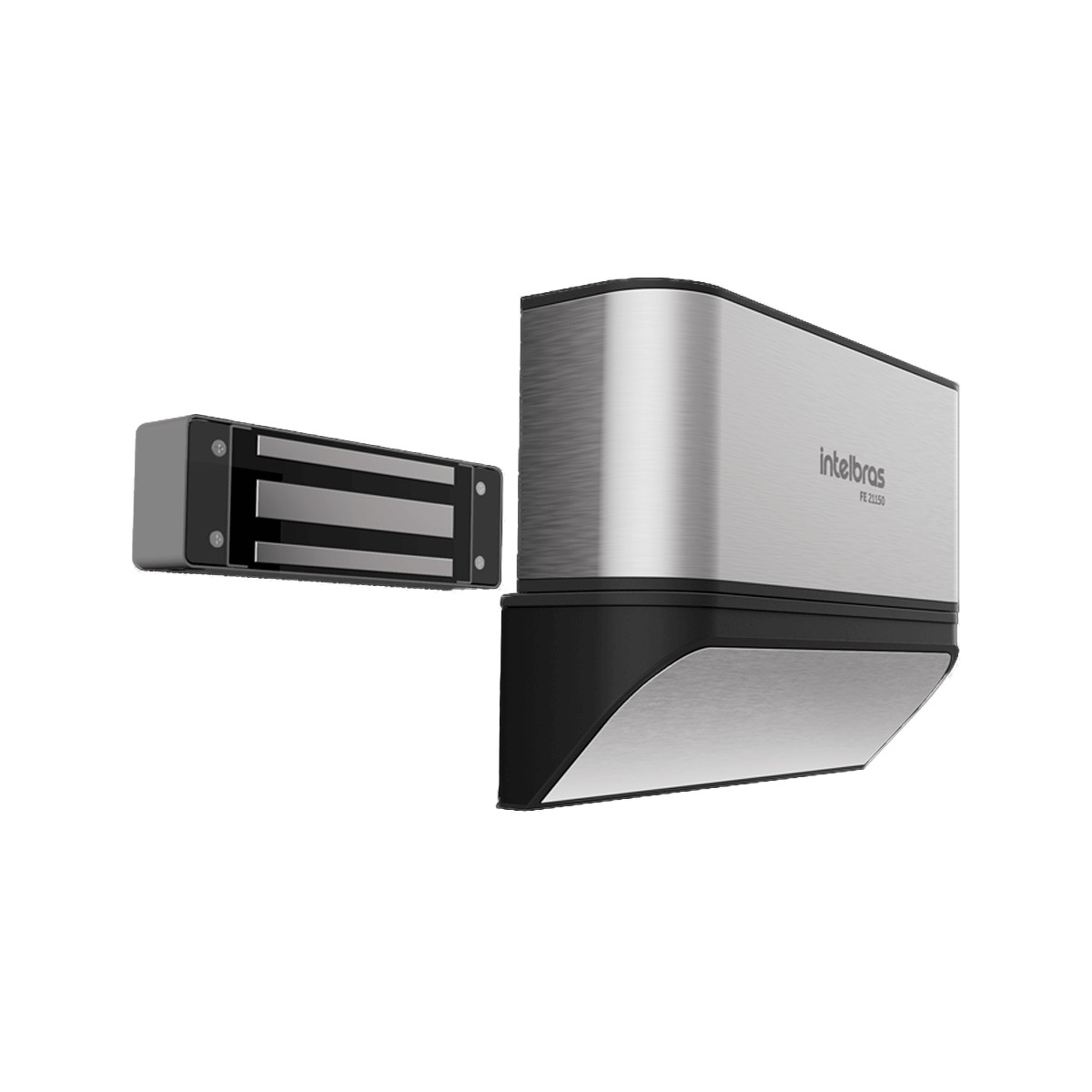 Fechadura Eletroimã Intelbras FE 21150 D 150 kgf Com Sensor