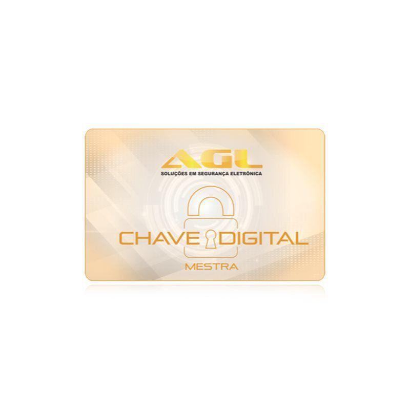 Fechadura Eletrônica AGL Smart Card Sensor Aproximação
