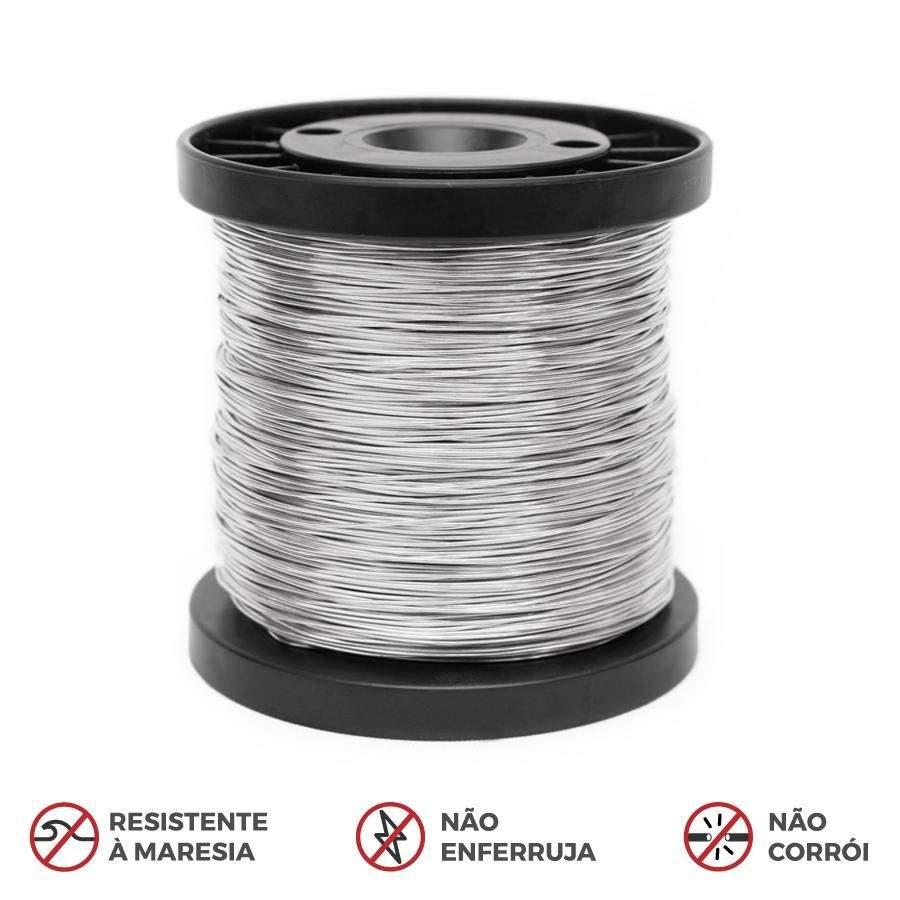 Fio de Alumínio Premium para Cerca Elétrica 1,20 mm 250 mts.