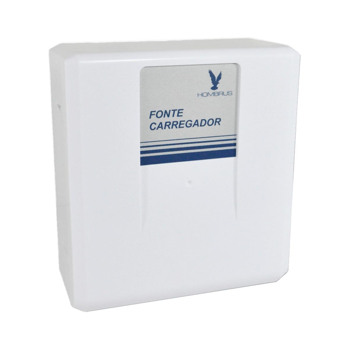Fonte Carregador de Bateria Hombrus 12V 2A com Temporizador