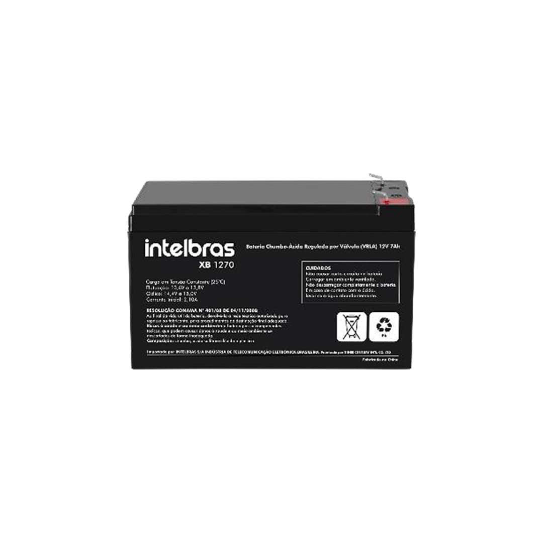 Fonte de Alimentação Ininterrupta Intelbras FA 1220 S Com Bateria