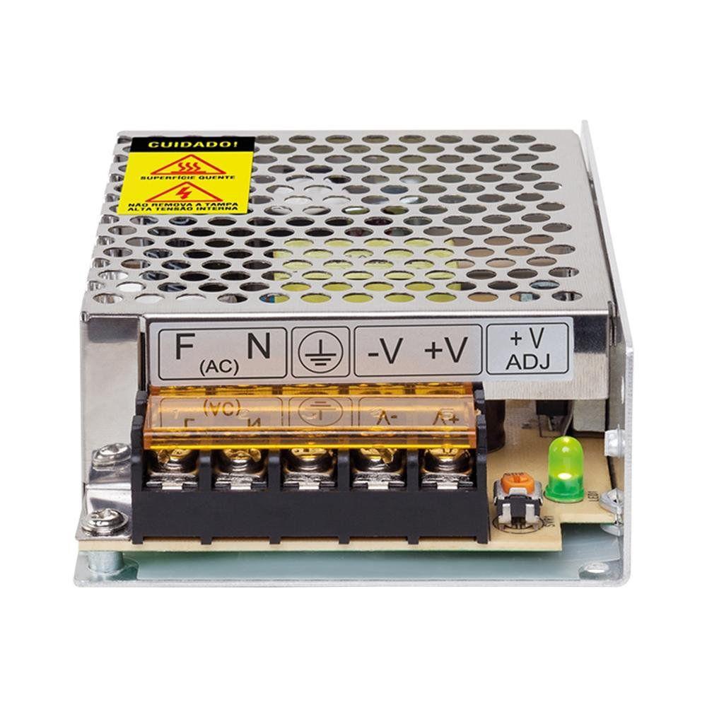 Fonte Intelbras 12V 5A EFM 1205 AC/DC