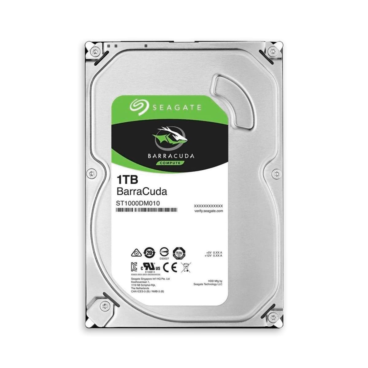 HD Disco Rígido Seagate Barracuda 1 Tb SATA 7200 RPM