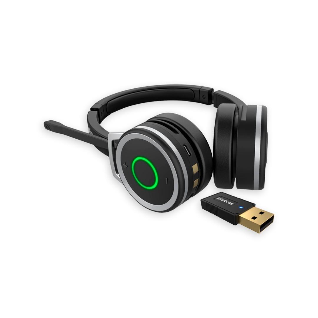 Headset Bluetooth Intelbras WHS 80 BT Fone