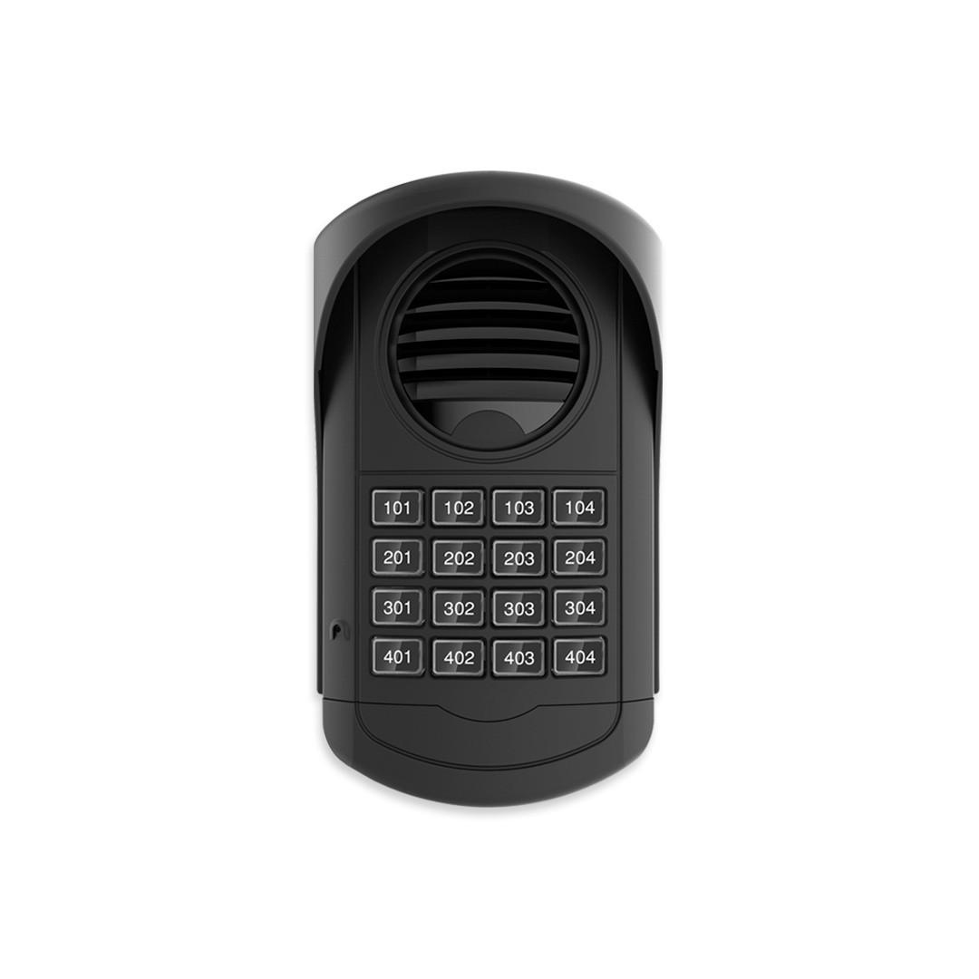 Interfone Coletivo AGL 16 Pontos S300 Com 16 Monofones