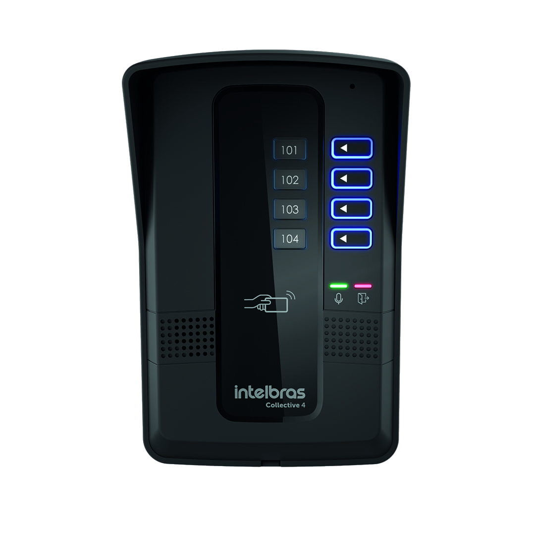 Interfone Intelbras Collective 4 Pontos