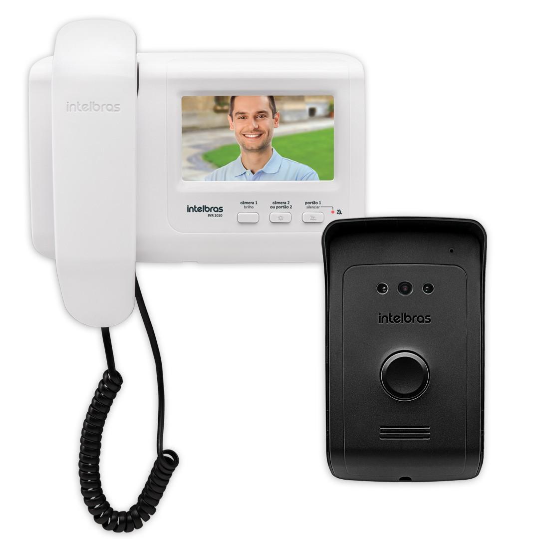 Interfone com Câmera Intelbras IVR 1010 Vídeo Porteiro