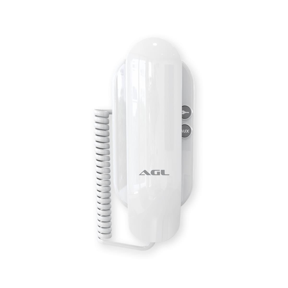 Interfone Porteiro Eletrônico Residencial AGL S100 Slim