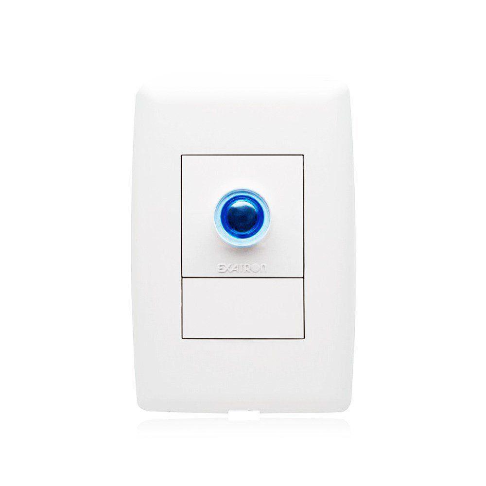 Interruptor Inteligente Dimmer Timer Touch Para de Iluminação Exatron