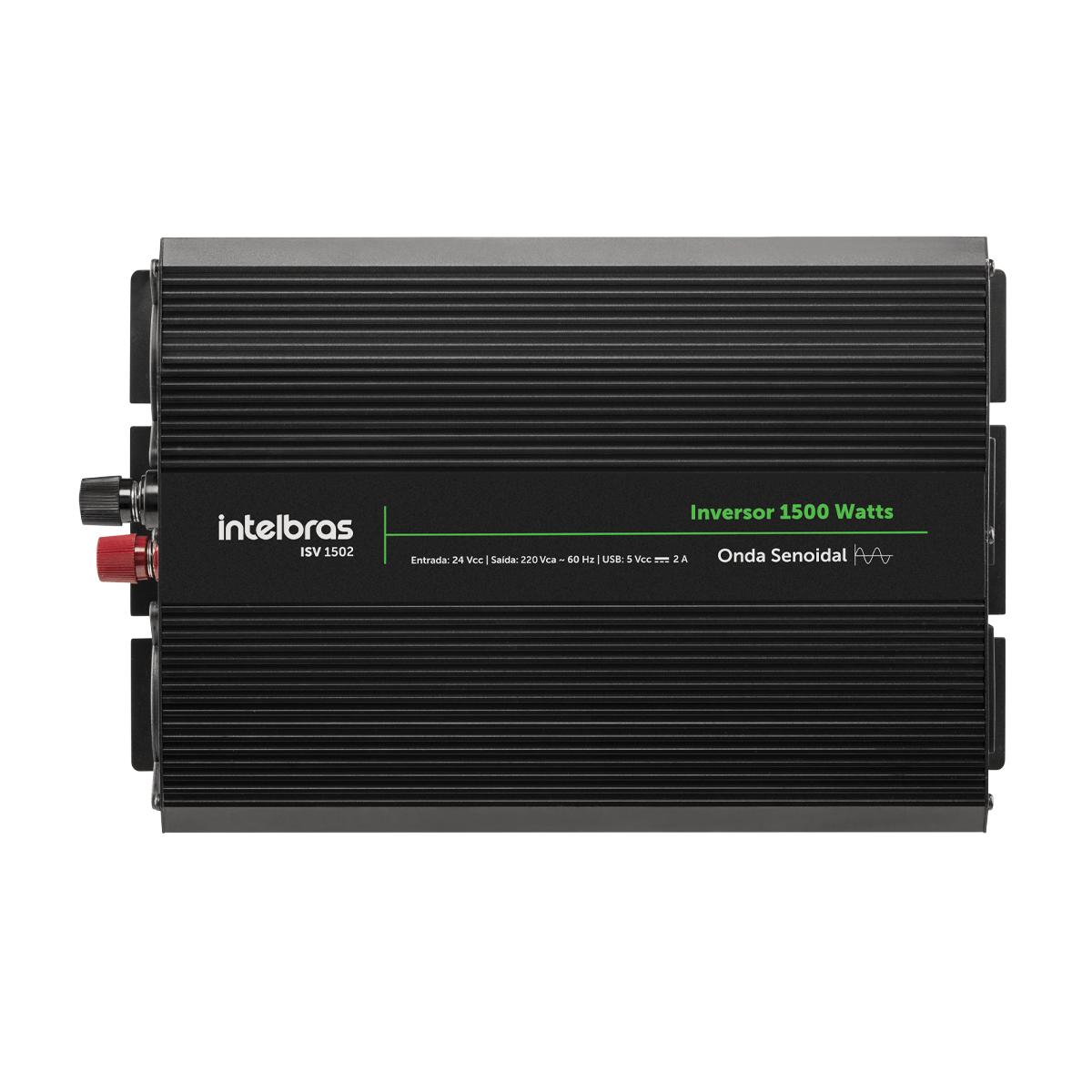 Inversor Solar Intelbras Off Grid 1500 W Onda Senoidal ISV 1502