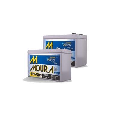 Kit 2 Baterias Moura 12V 7A | Netalarmes
