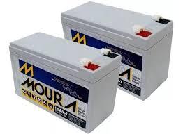Kit 2 Baterias Moura Vrla 12V 9A | Netalarmes
