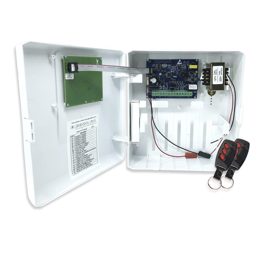 Kit Alarme Residencial Bopo 6 Sensores Com Fio Discadora