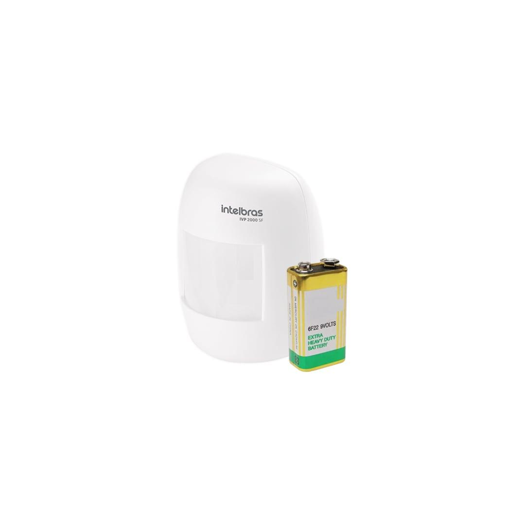 Kit Alarme Residencial Intelbras ANM 3004 ST Com 1 Sensor Sem Fio
