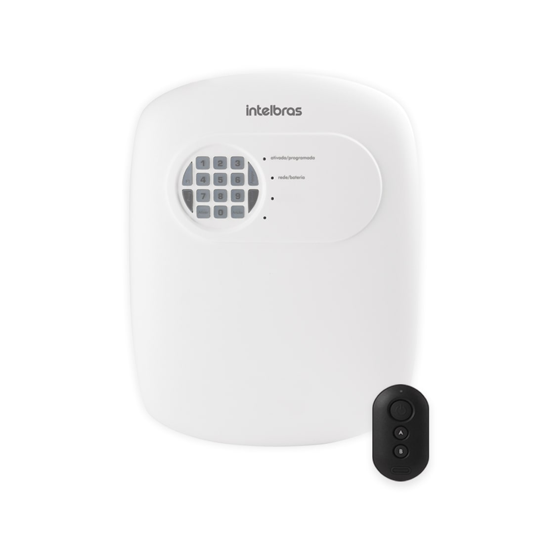 Kit Alarme Residencial Intelbras ANM 3004 ST Com 2 Sensores Com Fio