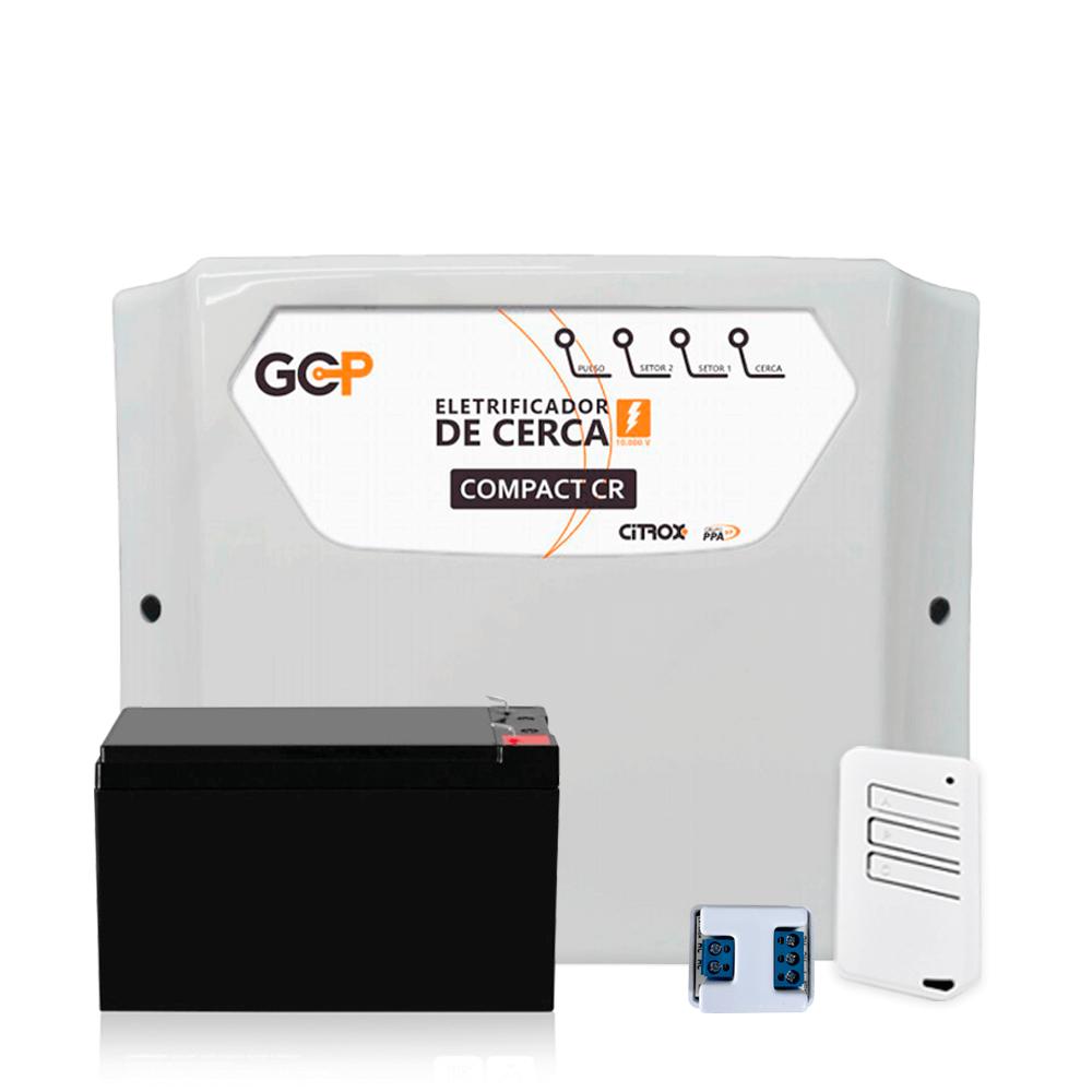 Kit Cerca Elétrica GCP Haste Estrela 4 Isoladores 70 Metros