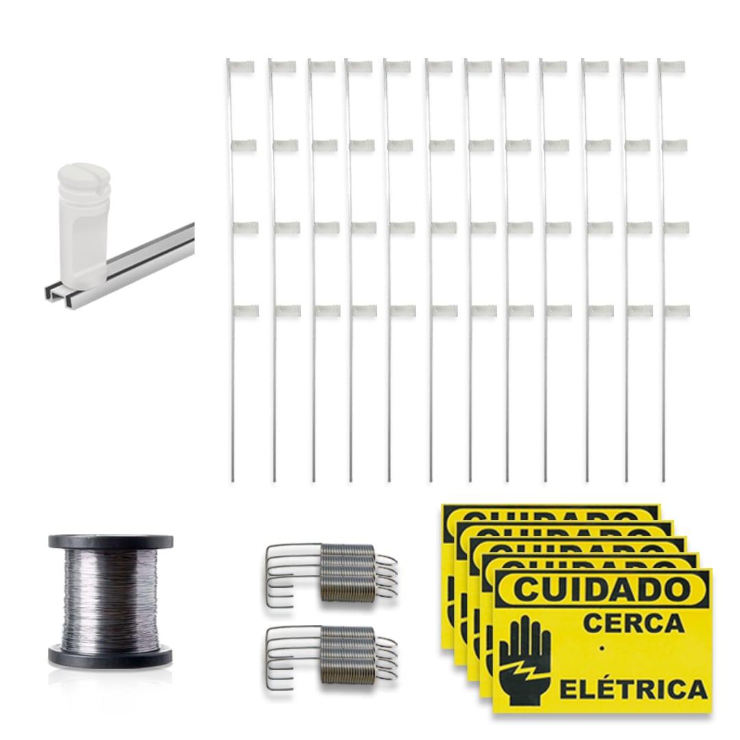 Kit Cerca Elétrica Genno Revolution Control 90 Metros