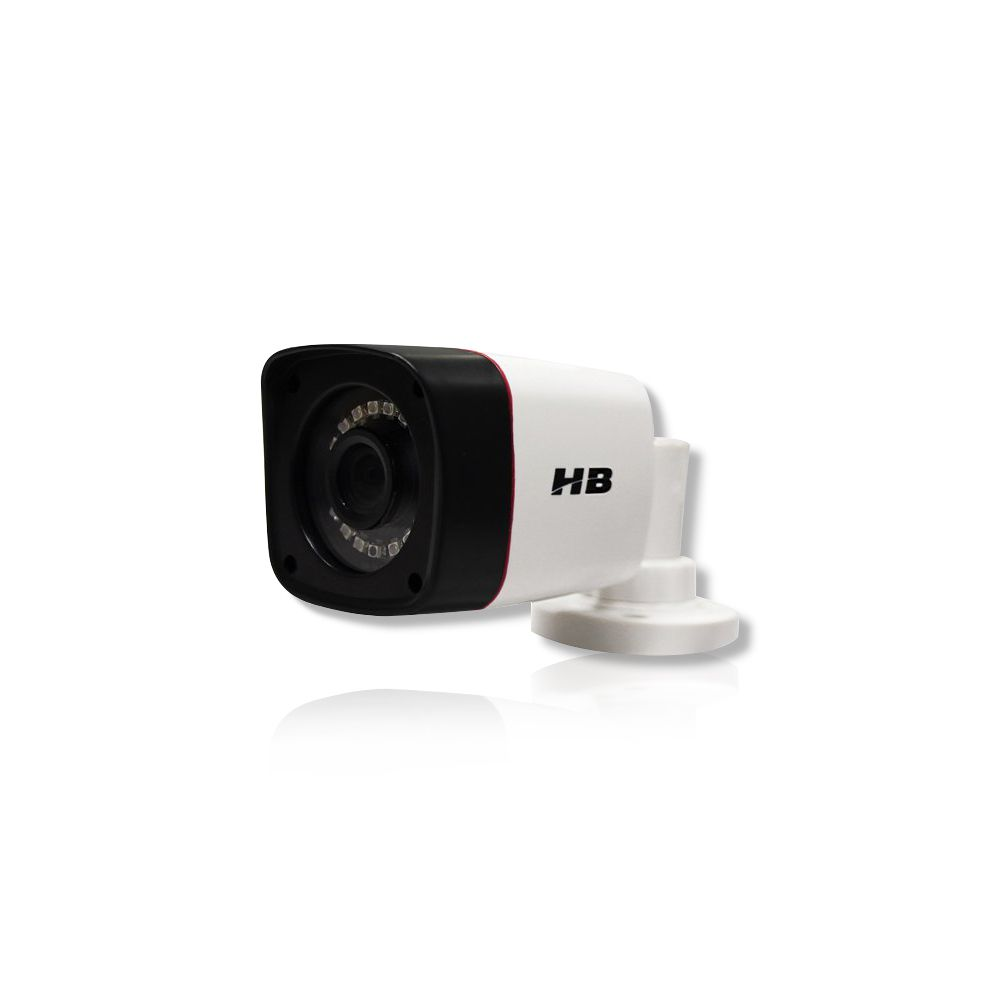 Kit Cftv 4 Câmeras Bullet HB 1080p DVR Intelbras 4 Canais