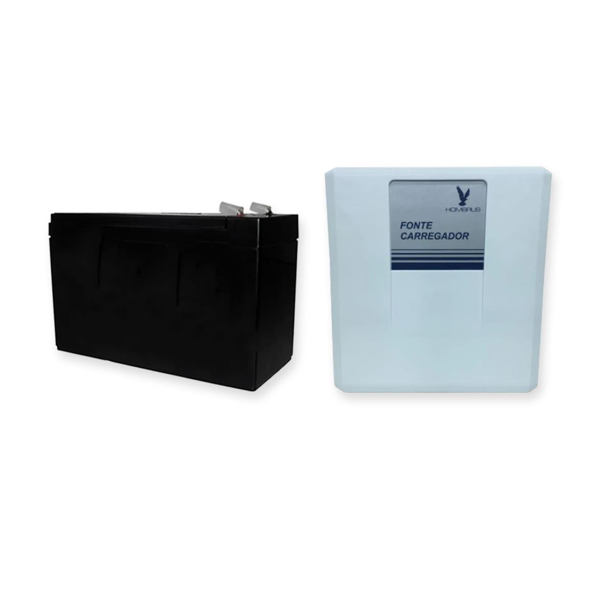 Kit Controle de Acesso Intelbras Com Fechadura Eletroimã Tag e Fonte