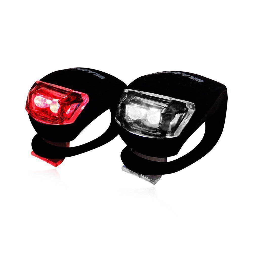 kit Lanterna Led Bike Dianteiro e Traseiro Brasfort