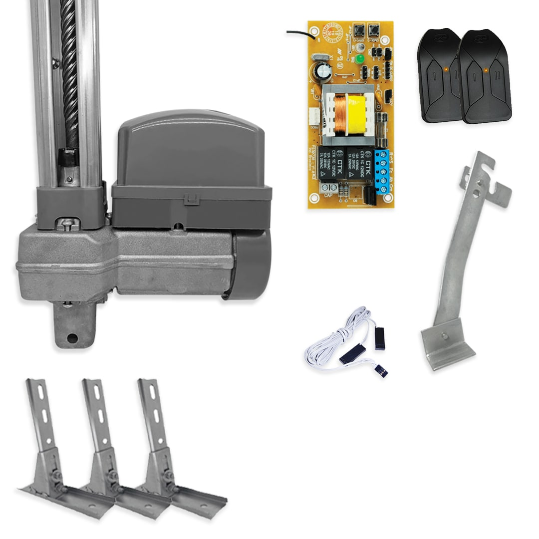 Kit Motor de Portão Basculante PPA Potenza Robust SP 1/3 + Suporte